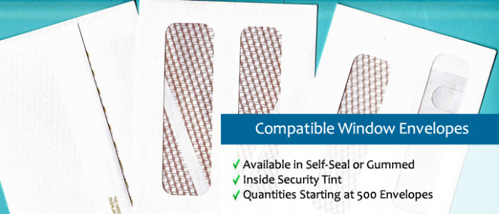 Compatible Window Envelopes
