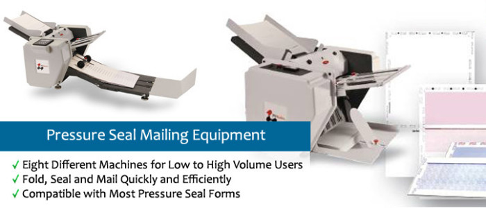 Pressure Seal Mailing Equipment