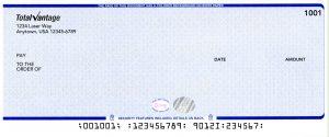 Imprinted Checks Stock Checks