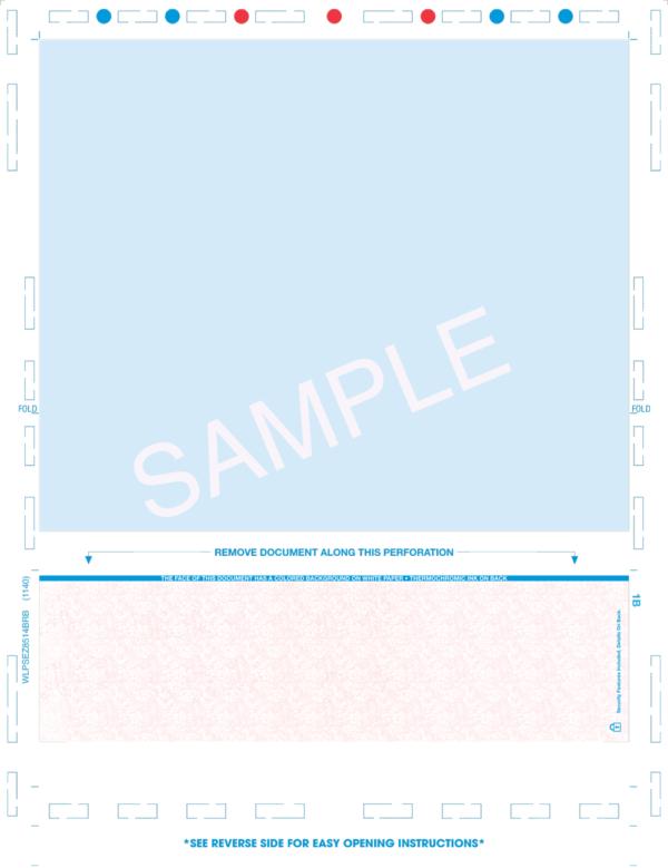 Z-fold pressure seal check eccentric prismatic