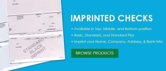 Imprinted Checks